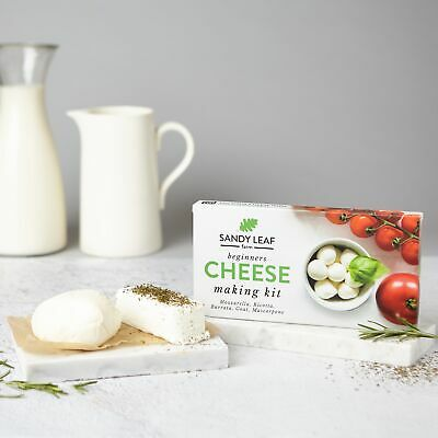 Mozzarella and Ricotta Cheese Kit - MAKE YOUR OWN - **FREE DELIVERY**
