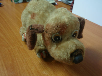 Rare Vintage 1950's/1960's Battery Powered Dog