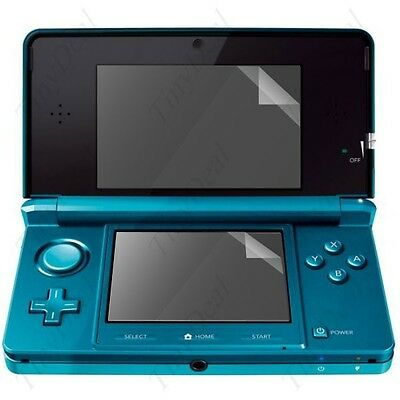 New LCD Screen Clear Protector Protective Film Screen Protector For Nintendo 3DS