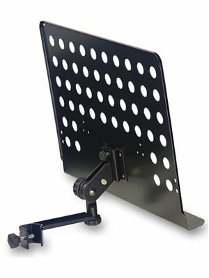 Stagg Music Stand Plate w/ Attachable Holder Arm - Large