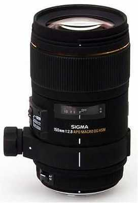 Sigma EX DG OS HSM Macro 150mm f/2.8 Lens For Canon