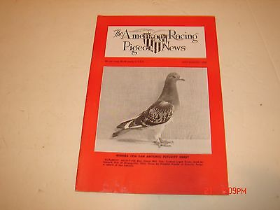 VINTAGE AMERICAN PIGEON RACING NEWS MAGAZINE BOOKLET SPORT HOMING JULY AUG 1956