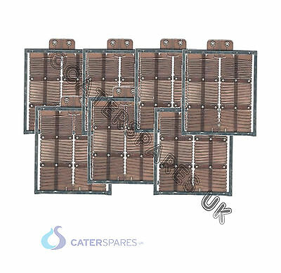 Rowlett 6 Slice Toaster Elements For 6 Slot Full Set 2 X End 5 X Centre X 7 Part