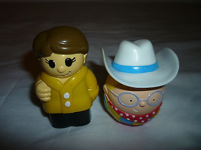 WEEBLE AND LEGO BLOCH MAN