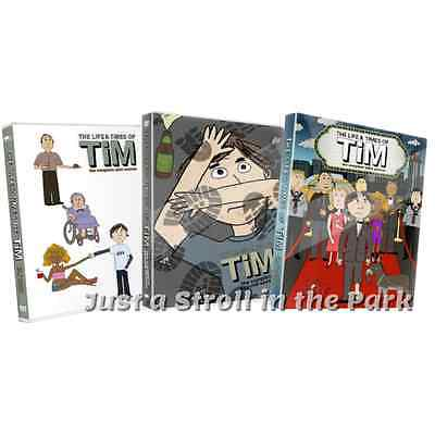 The Life & Times of Tim: Complete TV Series Seasons 1 2 3 Box / DVD Set(s) NEW!