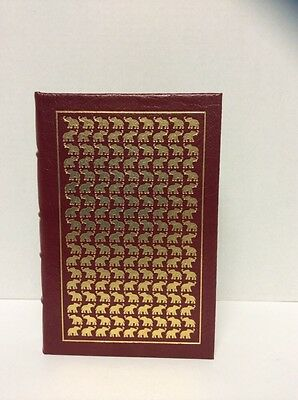 SIGNED By President GERALD FORD A Time To Heal~Easton Press~Leather Bound