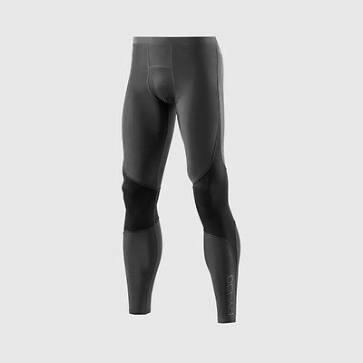 SKINS RY400 Men's Compression Long Tights for Recovery Graphite Extra Large XL