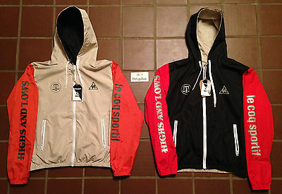 "Le Coq Sportif X Hal Reversible Jacket S-Xl ""swan Pack"" Highs And Lows"