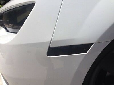 2014 2015 Chevy Camaro Front & Rear Side Marker PreCut Smoke Tint Cover Overlays