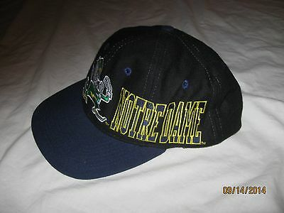 Notre Dame Fighting Irish Vintage Snapback Hat Cap Mens NCAA ND Apex One