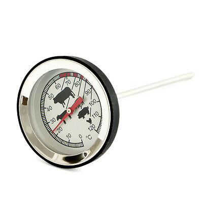 Bratenthermometer Edelstahl / Fleischthermometer, Backofen Thermometer, Grill