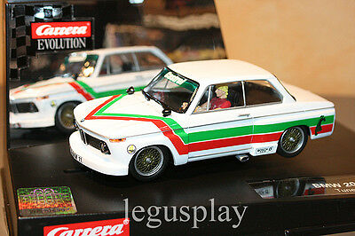 Slot SCX Scalextric Carrera 27350 Evolution BMW 2002 Turner - New