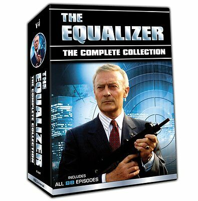 The Equalizer: Complete TV Series Seasons 1 2 3 4 DVD Boxed Set Collection NEW!