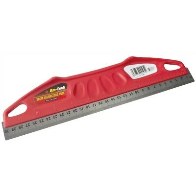 30 cm DECORATORS STRAIGHT EDGE METAL BLADE MEASUREMENTS IN INCHES & MM WALLPAPER