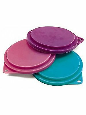 Pet Food Can Covers  Random Colors 4 Pack