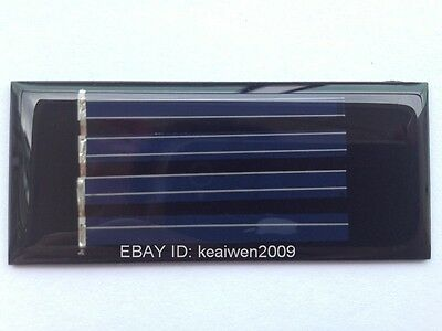 10pcs small solar panel 2V 40ma solar power 1.2v AA battery mini solar panel new