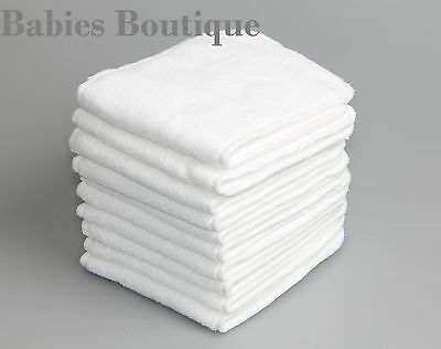 Reusable Microfibre 3 Layer Pocket C Inserts Boosters Liners Pocket Cloth Insert