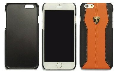 "Lamborghini Huracan-D1 Leather Back Cover Case for iPhone 6 / 6s (4.7"") Orange"