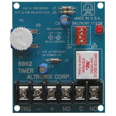 ALTRONIX 6062 Timer, Multifunction, 12/24VDC