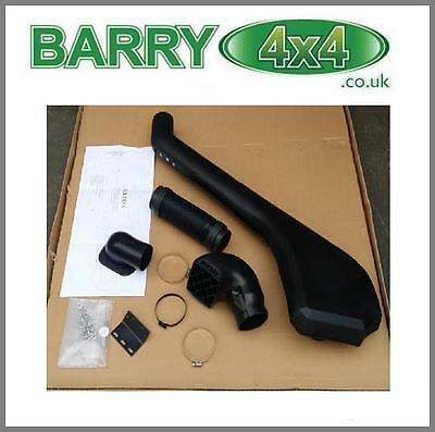 DISCOVERY 3 & 4 RAISED AIR INTAKE SAFARI STYLE SNORKEL  Barry4x4 QSN002