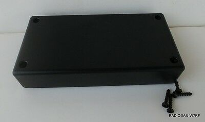 USA made BLACK Plastic Electronic Project Box Enclosure case 5 x 2.5 x 1 inch