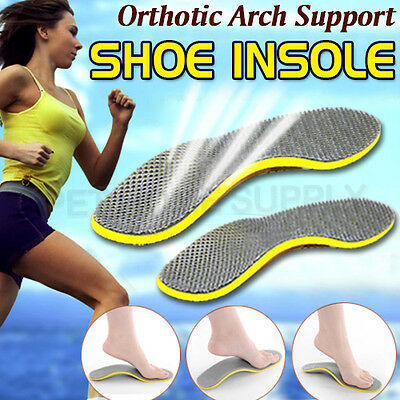 2 Pairs Brand New Orthotic Arch Support Shoe Insoles Pads Pain Relief Men/Women