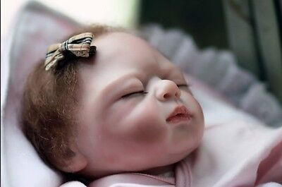 Nicery Reborn Baby Doll Soft Silicone Girl Toy 20in. 50cm Sleep White Russian