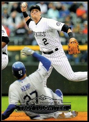 2011 Topps Marquee #91 Troy Tulowitzki - NM-MT