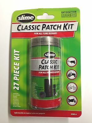 SLIME 4060-A Bike Patch Kit for Tube Tires-27 piece Patch Kit-Buy 1 Get 1 FREE!