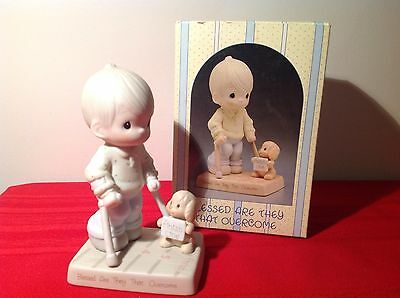 PRECIOUS MOMENT -  BLESSED ARE THEY THAT OVERCOME - 115479 Enesco