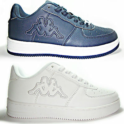 KAPPA MOD AIR force basse scarpe uomo donna sneakers running bianche ... efa08ad855f