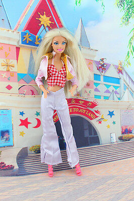 New Fashion Handmade lovely Dress Clothes For Barbie Doll a89