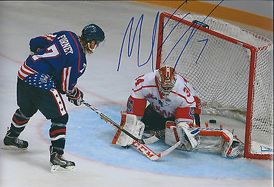 Mike FORNEY Sheffield Steelers Ice Hockey Signed Autograph Photo AFTAL COA