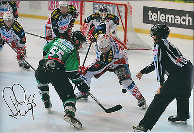 Pascal MORENCY Sheffield Steelers Ice Hockey Signed Autograph Photo AFTAL RARE