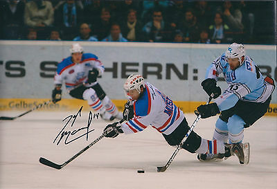 Tyler MOSIENKO Sheffield Steelers Ice Hockey Signed Autograph Photo AFTAL RARE