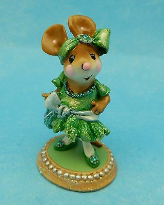 FLAPPER FRANNY by Wee Forest Folk, WFF# M-328, Green, Retired Color