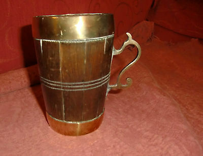 19th century Copper/ Brass Coppered mug