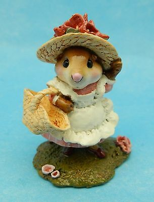 TO MARKET by Wee Forest Folk, WFF# M-348, PINK - Retired