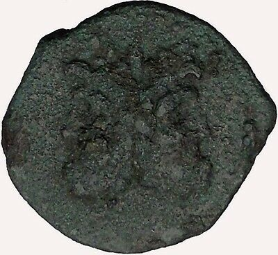 PANORMOS in SICILY Roman Protectorate after241BC JANUS Ancient Greek Coin i43603