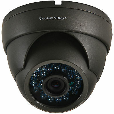 Channel Vision 6810-O Vandal-Proof IR Dome Camera