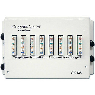 Channel Vision C-0438 7 Port Telephone Module