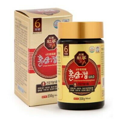 Korean 6Years Root Red Ginseng Gold Extract_250g(8.8oz) X 1ea_Saponin, Panax