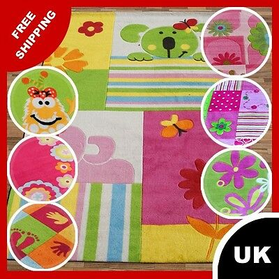COLOURFUL RUG KID'S ROOM CARPET FOR BOYS AND GIRLS 'N' 120x170 140x200 160x230