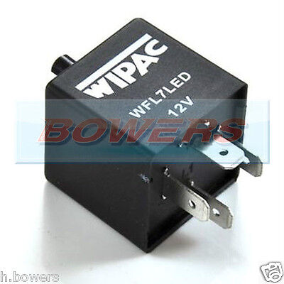 Land Rover Defender 90 110 4 Pin Led Indicator Flasher Unit Relay Wipac Wfl7Led