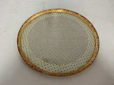 "17"" Perforated Pizza Pans Pan"