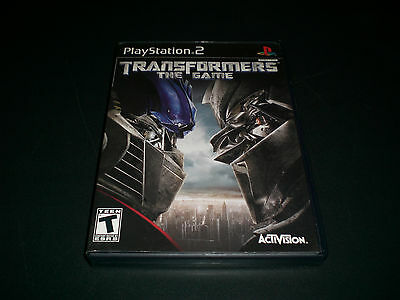 "Transformers: The Game (PlayStation 2) Complete ""Great Condition"""