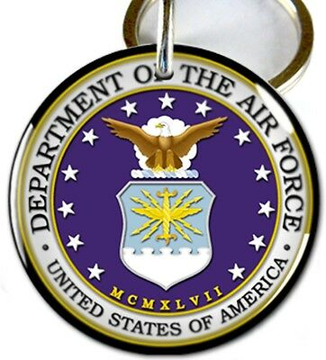 U.S. Department of Air Force Military dog cat custom tag for pets by ID4PET