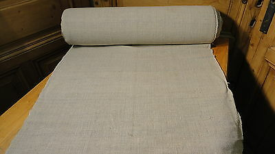 Homespun Linen Hemp/Flax Yardage 25.9 Yards x 25'' Plain  #5661