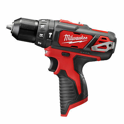 "Milwaukee 12 Volt M12 3/8"" Cordless Hammer Drill NIB Tool Only 2408-20 New"