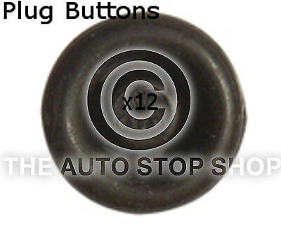 Fasteners Plug Buttons 14 A 15 MM VW Polo/Routan/Tiguan etc 10714vw 12pk